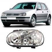Farol Esquerdo Volkswagen Golf 1999/2006 S/ Auxiliar