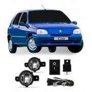 Farolete Renault Clio Kangoo 1999 Em Diante Kit Completo