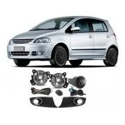 Farolete Volkswagen Fox 2010 Em Diante Kit Completo