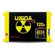 Fonte Carregador Usina Smart Bivolt 120a 12v Battery Meter