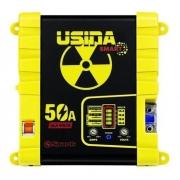 Fonte Carregador Usina Smart Bivolt 50a 12v Battery Meter