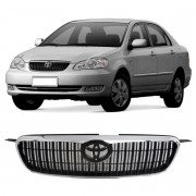 Grade Radiador Toyota Corolla 2003/2006 Sem Emblema