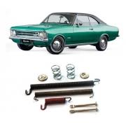 Jogo De Molas Freio Traseiro Chevrolet Opala Até 1979
