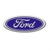 Jogo Emblema Adesivo Calota Ford Azul Oval Pequeno 44,5mm