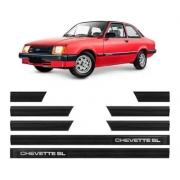 Jogo Friso Chevrolet Chevette Sl 2 Portas 1983/86