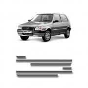 Jogo Friso Fiat Uno 2 Portas 1998 Em Diante