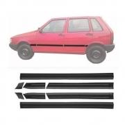 Jogo Friso Fiat Uno 4 Portas Até 1994