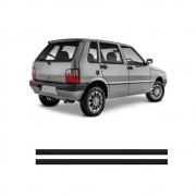 Jogo Friso Teto Fiat Uno Até 2003
