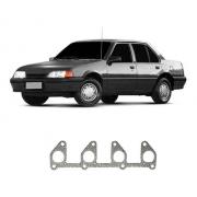 Junta Do Coletor De Escape Aço Chevrolet Monza 1987/1997