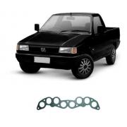 Junta Do Coletor De Escape Fiat Fiorino 1996 Em Diante