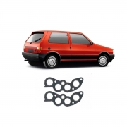 Junta Do Coletor De Escape Fiat Uno 1.5 1985/1989