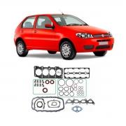 Junta Motor Cabeçote Aço Inox C/ Retentor Fiat Palio 00/03