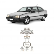 Junta Motor Cabeçote Baspack C/ Retentor Fiat Tempra 94/98