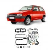 Junta Motor Cabeçote Baspack C/ Retentor Fiat Uno 1996/