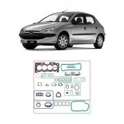 Junta Motor Cabeçote Baspack C/ Retentor Peugeot 206 04/09