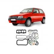 Junta Motor Cabeçote Baspack Fiat Uno 1996 Em Diante