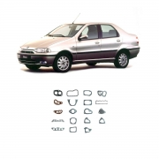 Junta Motor Completo S/retentor Fiat Siena 1996 Em Diante