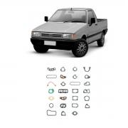 Junta Motor S/retentor Fiat Fiorino 1985/1989