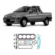 Junta Motor Superior C/retentor Fiat Strada 1996/2001