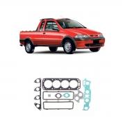Junta Motor Superior C/retentor Fiat Strada 1996 Em Diante