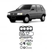 Junta Motor Superior Cabeçote Baspack C/ Retentor Uno 96/02