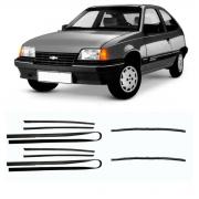 Kit Canaletas + Pestanas Chevrolet Kadett 1989/1998