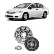 Kit Embreagem Honda Civic 1.8 16v Flex 2007/2011