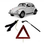 Kit Estepe Chave 19mm + Triângulo + Macaco Volkswagen Fusca