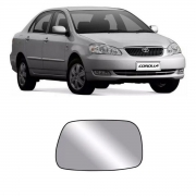 Lente Espelho Retrovisor Direito Corolla 2002/2007
