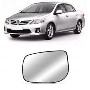 Lente Espelho Retrovisor Esquerdo Corolla 2008/
