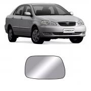 Lente Espelho Retrovisor Esquerdo Corolla 2002/2007
