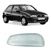 Lente Farol Direito Ford Fiesta Courier 1996/2000