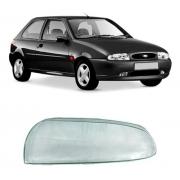 Lente Farol Esquerdo Ford Fiesta Courier 1996/2000