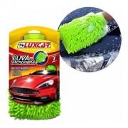Luva De Microfibra Para Limpeza Automotiva