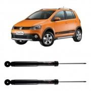 Par Amortecedor Traseiro Volkswagen Crossfox 2004 Até 2012