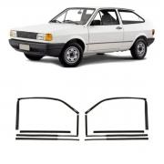 Par Canaleta Volkswagen Gol Saveiro Parati Voyage 1988/1994