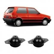 Par Coxim Do Motor Fiat Uno 1986 / 1990 Direito E Esquerdo