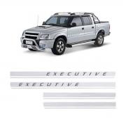 Par Faixa Lateral Executive S10 Blazer 2009/2011