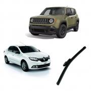 Par Palhetas Dianteiras Jeep Renegade Renault Logan