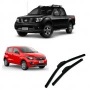 Par Palhetas Dianteiras Nissan Frontier Fiat Mobi