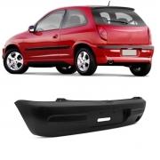 Para-choque Traseiro Chevrolet Celta 2001/2006 Preto Liso