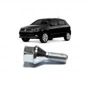 Parafuso De Roda Cromado Linha Volkswagen Chevrolet