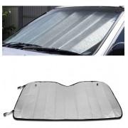 Protetor Solar Para-brisa Dobrável Suporte Ventosa