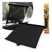 Protetor Solar Retrátil Cortina Fixação Ventosa Ou Clipe