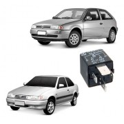 Relé Módulo Injeção Volkswagen Fiat Ford 4 Terminais