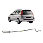 Silencioso Intermediário Peugeot 206 Sw 1.4 8v 1.6 16v 2005/