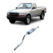 Silencioso Traseiro Ford Ranger 2.5 Cabine Simples 1998/2000
