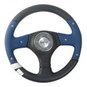 Volante Esportivo Sport Preto / Azul 340mm