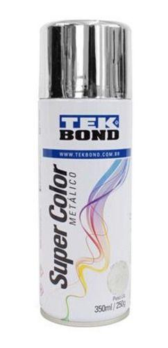 Tinta Spray Cromado Metálico Para Farol