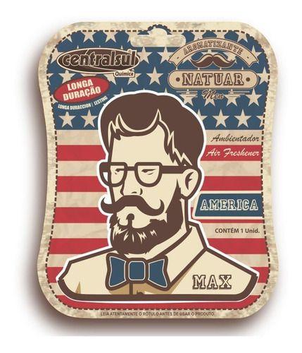Aromatizante Miniatura Men America